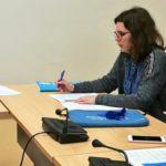 Eva Solla reúnese coas representantes de Unicef para escoitar as súas demandas en materia da protección da infancia