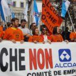 Esquerda Unida reúnese co comité de Alcoa da Coruña e esixe ás administracións públicas que actúen e auditen o proceso de compra-venta da factoría