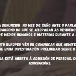"""🎥 Rolda de prensa: """"A vulneración de dereitos fundamentais nas residencias de maiores durante a COVID19 debe ser investigada""""ada"""