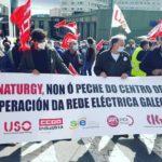 Esquerda Unida denuncia a inacción das administracións ante o peche do centro operativo de Naturgy na Coruña